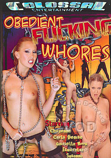 Obedient Fucking Whores Box Cover