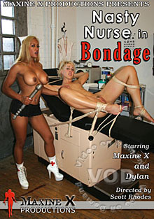 Nasty Nurse In Bondage Box Cover