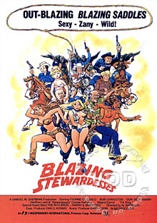 Blazing Stewardesses Box Cover