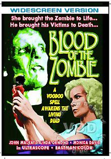 Blood Of The Zombie Box Cover