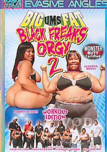 Big Ums Fat Black Freaks Orgy 2 Box Cover