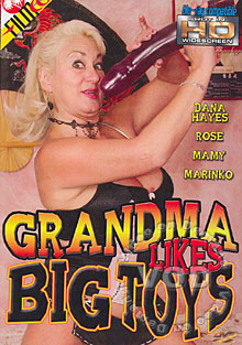 Grandma Likes Big Toys Box Cover
