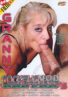 Granny Cocksuckers #5 Box Cover