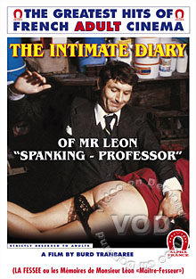 The Intimate Diary Of Mr. Leon Spanking-Professor Box Cover