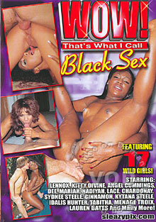 Wow! That's What I Call Black Sex Box Cover