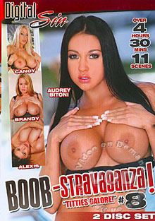 Boob-Stravaganza! #8 (Disc 2) Box Cover