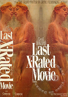 Cecil Howard's The Last X-Rated Movie Box Cover