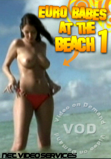 Eurobabes At The Beach 1 Box Cover