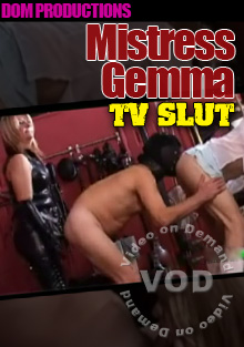 Mistress Gemma: TV Slut Box Cover