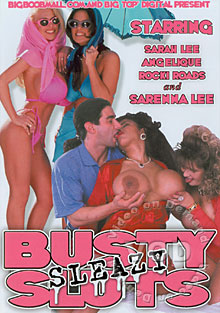 Busty Sleazy Sluts Box Cover
