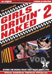 Girls Drivin' Naked 2 Box Cover