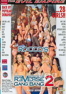 Rocco's Reverse Gang Bang 2 Box Cover