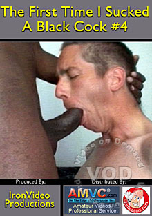The First Time I Sucked Black Cock #4 Box Cover