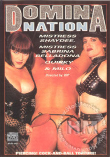 Domina Nation Box Cover