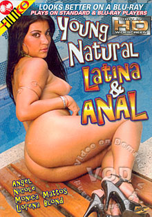 Young Natural Latina & Anal Box Cover