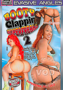 Booty Clappin' Superfreaks 2 Box Cover