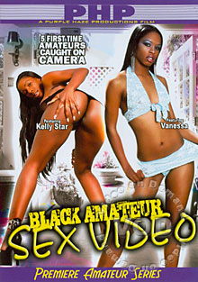 Black Amateur Sex Video Box Cover