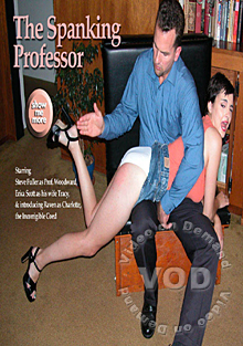 The Spanking Professor Box Cover