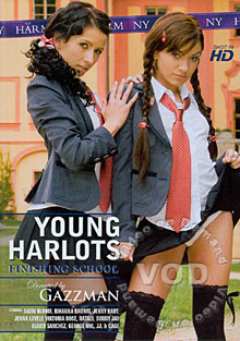 Young Harlots Finishing School Box Cover