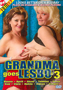 Grandma Goes Lesbo #3 Box Cover