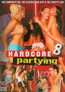 Hardcore Partying 8 Box Cover