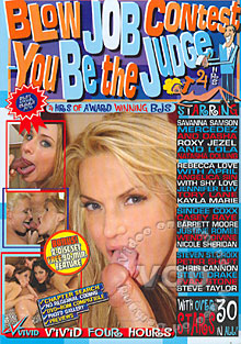 Blow Job Contest - You Be The Judge Box Cover