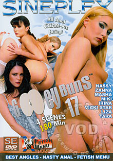 Gooey Buns 17 Box Cover