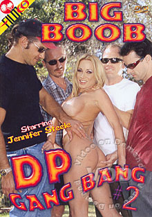 Big Boob DP Gang Bang 2 Box Cover