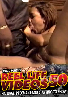 Reel Life Videos 50 - Natural, Pregnant And Starting To Show Box Cover