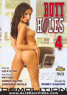 Butt Holes 4 Box Cover