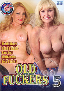 Old Fuckers 5 Box Cover