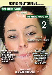 On Her Face And In Her Mouth 2