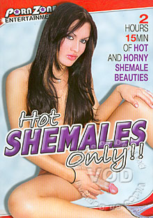 Hot Shemales Only Box Cover