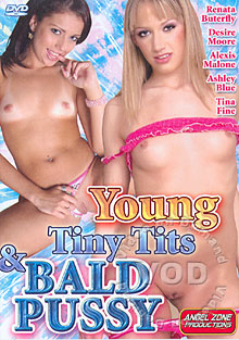 Young Tiny Tits & Bald Pussies Box Cover