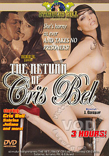 The Return Of Cris Bel Box Cover