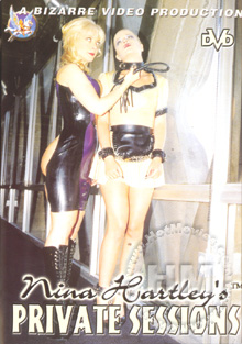 Nina Hartley's Private Sessions Box Cover