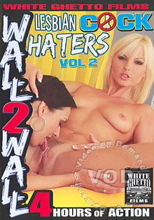Lesbian Cock Haters Vol. 2 Box Cover