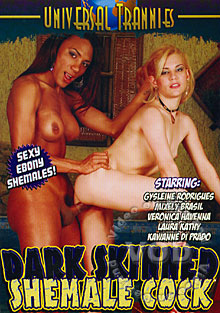 Dark Skinned Shemale Cock Box Cover