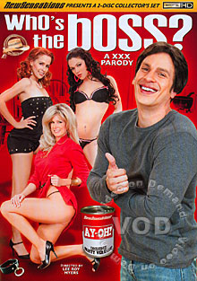 Who's The Boss - A XXX Parody (Disc 1) Box Cover