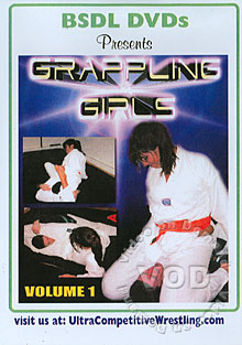 BSDL - GG1: Grappling Girls Volume 1 - Disc One Box Cover