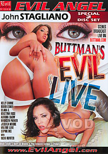 Buttman's Evil Live (Disc 2) Box Cover