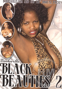 Boobsville's Black Beauties 2 Box Cover