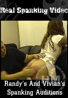 Roxy's And Vivian's Spanking Auditions Box Cover