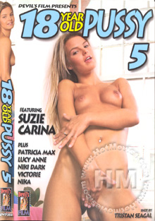 18 Year Old Pussy 5 Box Cover