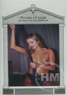 House Of Legs #15 - Silky Style Sampler Box Cover