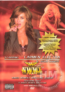 Carmen Electra's Naked Women's Wrestling League: Operation Naked Storm Box Cover