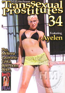Transsexual Prostitutes 34 Box Cover