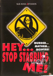 Hey...Stop Stabbing Me! Box Cover