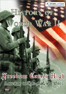 History Of World War II - Learning To Live With The War! Disc 2 Box Cover