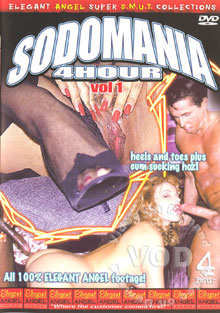 Sodomania 4 Hour Vol 1 Box Cover